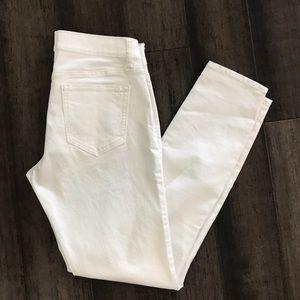 Old Navy- White Skinny Jeans